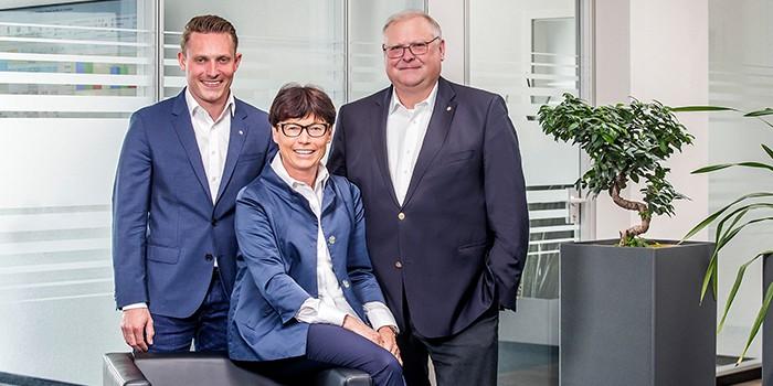 Bild mit den Familienmitglieder im Unternehmen Eberle Hald