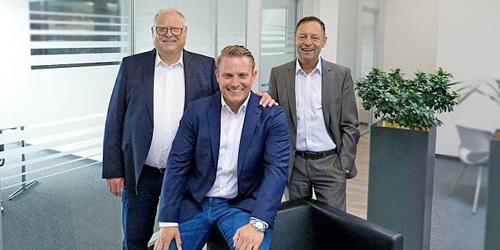 Bild mit der Geschäftsführung im Unternehmen Eberle Hald