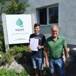 Daniel (Helmut Haas GmbH), Abschlussnote: 1,30